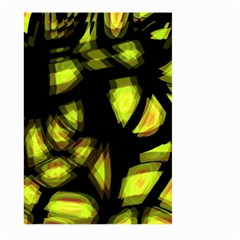 Yellow light Large Garden Flag (Two Sides)