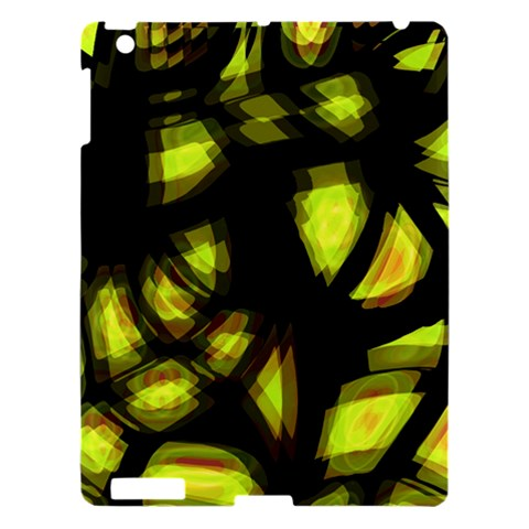 Yellow light Apple iPad 3/4 Hardshell Case