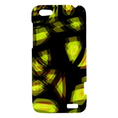 Yellow light HTC One V Hardshell Case