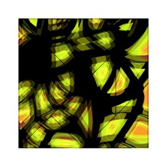 Yellow Light Acrylic Tangram Puzzle (6  X 6 )