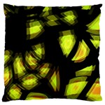 Yellow light Large Cushion Case (Two Sides) Front