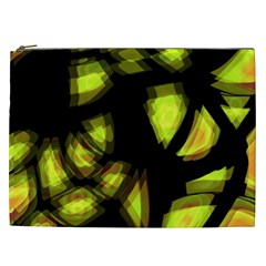 Yellow light Cosmetic Bag (XXL)