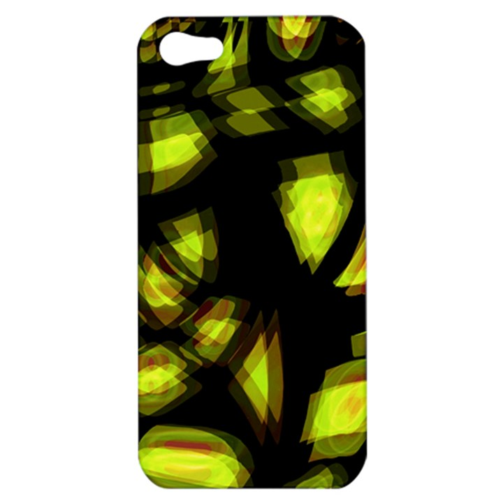 Yellow light Apple iPhone 5 Hardshell Case