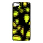 Yellow light Apple iPhone 5 Case (Silver) Front