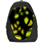 Yellow light Backpack Bag Front