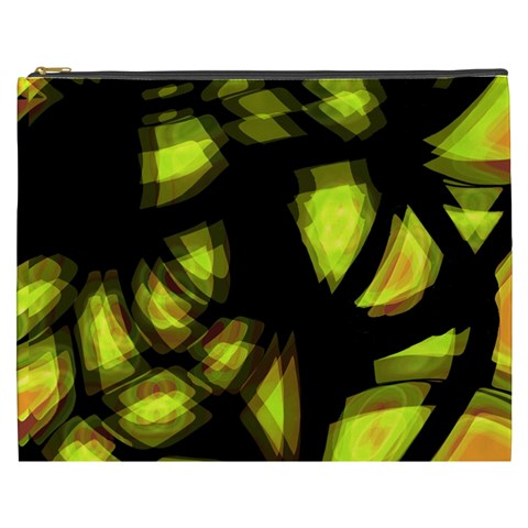 Yellow light Cosmetic Bag (XXXL)