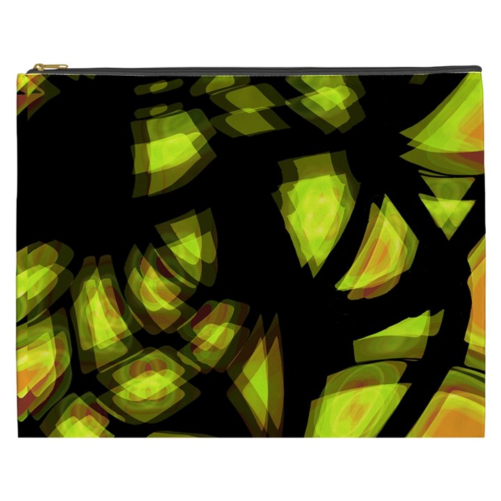 Yellow light Cosmetic Bag (XXXL)