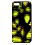 Yellow light Apple iPhone 5 Seamless Case (Black) Front