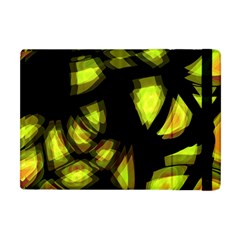 Yellow Light Apple Ipad Mini Flip Case