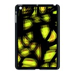 Yellow light Apple iPad Mini Case (Black) Front