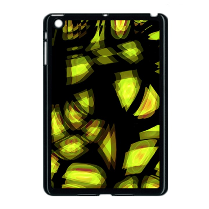 Yellow light Apple iPad Mini Case (Black)