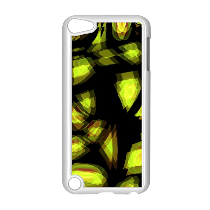 Yellow light Apple iPod Touch 5 Case (White)