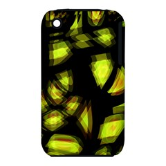 Yellow Light Apple Iphone 3g/3gs Hardshell Case (pc+silicone)