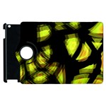 Yellow light Apple iPad 3/4 Flip 360 Case Front