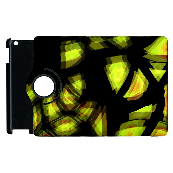 Yellow light Apple iPad 3/4 Flip 360 Case