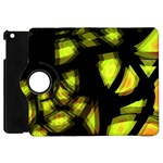 Yellow light Apple iPad Mini Flip 360 Case Front