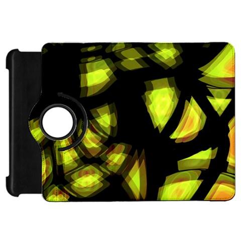 Yellow light Kindle Fire HD Flip 360 Case