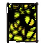 Yellow light Apple iPad 3/4 Case (Black) Front