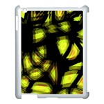 Yellow light Apple iPad 3/4 Case (White) Front