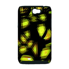 Yellow light Samsung Galaxy Note 2 Hardshell Case (PC+Silicone)