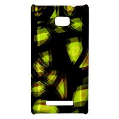 Yellow light HTC 8X