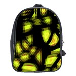 Yellow light School Bags (XL)  Front