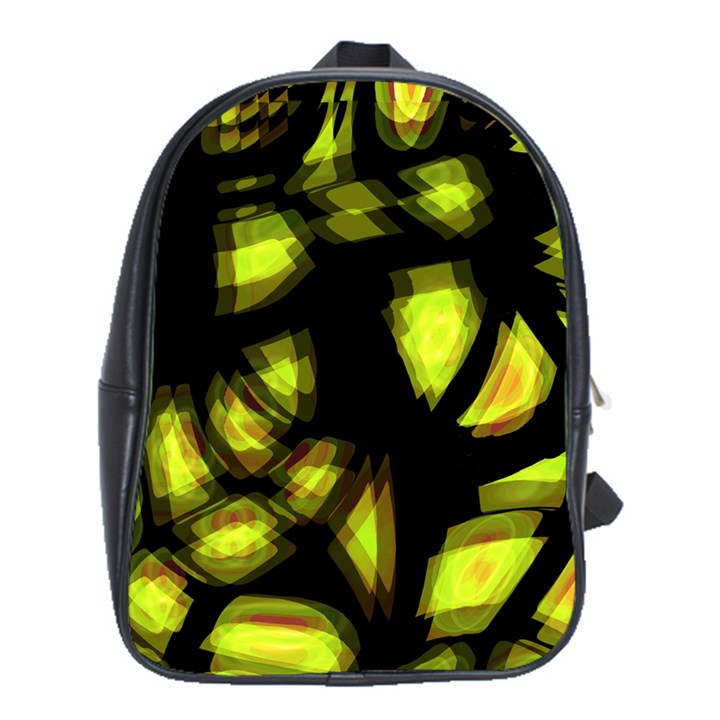 Yellow light School Bags (XL)