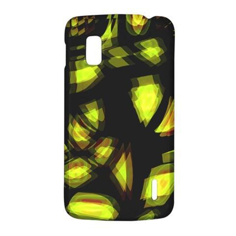 Yellow light LG Nexus 4