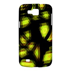 Yellow light Samsung Galaxy Premier I9260 Hardshell Case