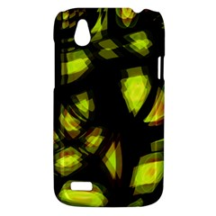 Yellow light HTC Desire V (T328W) Hardshell Case