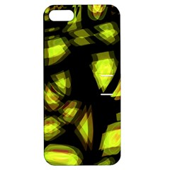 Yellow light Apple iPhone 5 Hardshell Case with Stand