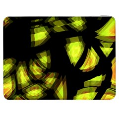 Yellow Light Samsung Galaxy Tab 7  P1000 Flip Case