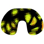 Yellow light Travel Neck Pillows Front