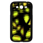 Yellow light Samsung Galaxy Grand DUOS I9082 Case (Black) Front
