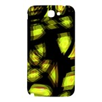 Yellow light Samsung Note 2 N7100 Hardshell Back Case Front