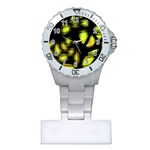 Yellow light Plastic Nurses Watch Front