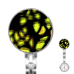 Yellow light Stainless Steel Nurses Watch