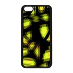 Yellow light Apple iPhone 5C Seamless Case (Black) Front