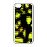 Yellow light Apple iPhone 5C Seamless Case (White) Front