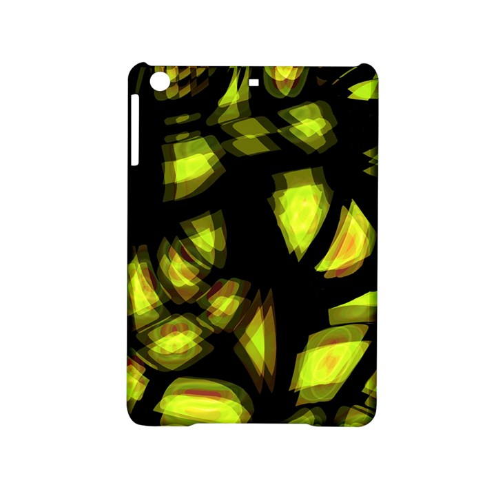 Yellow light iPad Mini 2 Hardshell Cases
