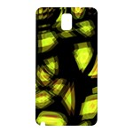 Yellow light Samsung Galaxy Note 3 N9005 Hardshell Back Case Front