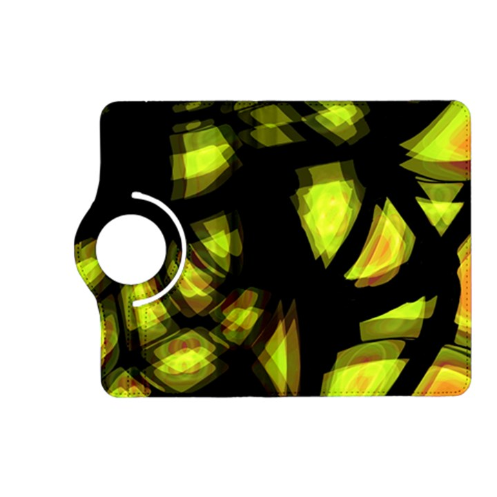 Yellow light Kindle Fire HD (2013) Flip 360 Case