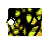 Yellow light Kindle Fire HDX 8.9  Flip 360 Case Front