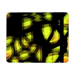 Yellow Light Samsung Galaxy Tab Pro 8 4  Flip Case