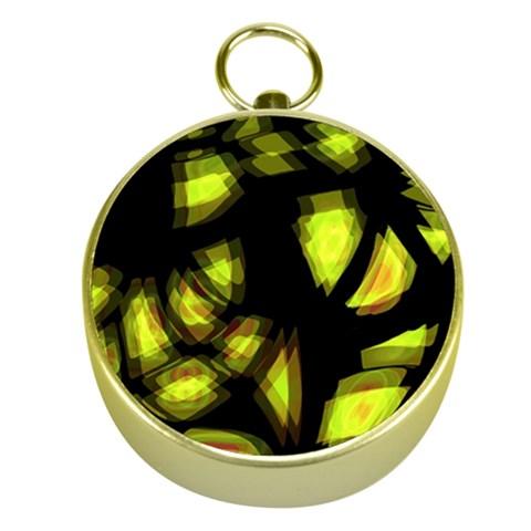 Yellow light Gold Compasses