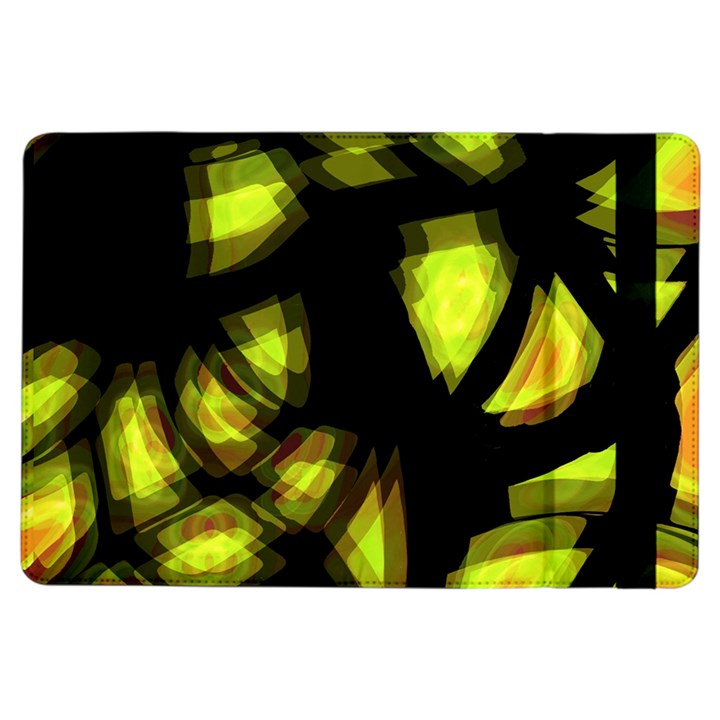 Yellow light iPad Air Flip