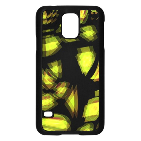 Yellow light Samsung Galaxy S5 Case (Black)