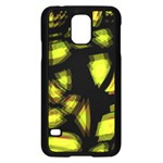 Yellow light Samsung Galaxy S5 Case (Black) Front