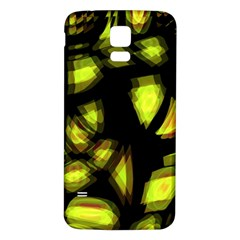 Yellow Light Samsung Galaxy S5 Back Case (white)