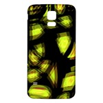 Yellow light Samsung Galaxy S5 Back Case (White) Front